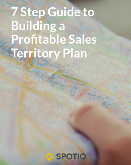 7 Step Guide to Profitable Sales Territory eBook Cover