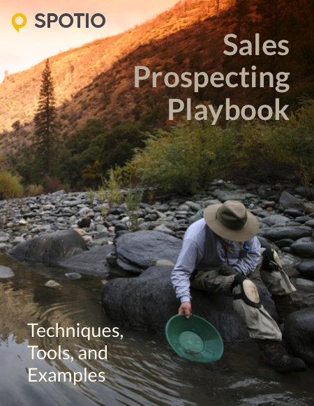Sales Prospecting Playbook eBook Cover