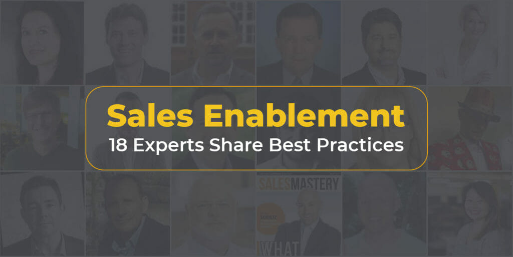 Sales Enablement Best Practices Expert Roundup
