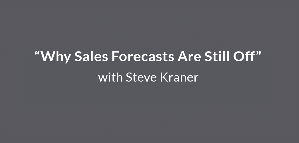"""""""Why Sales Forecasts Are Still Off""""_FI"""