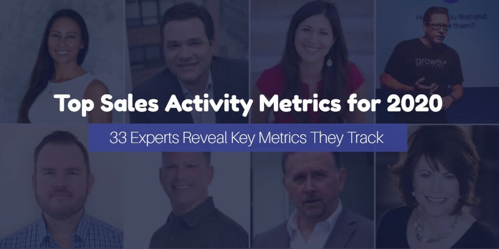 15 Key Sales Activity Metrics to Track in 2020 (According to the Experts)_FI